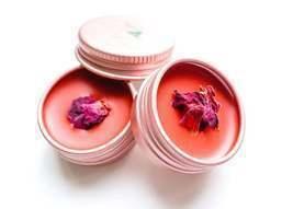 Vegan Rose Balm | zero waste lip balm | vegan lip and cheek | clean beauty| - £18.99 GBP