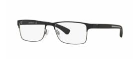 Armani EA1041 Eyeglass Frames 3094-55  Black Rubber  - $99.95