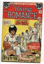Young Romance #194 1973 COMIC BOOK Interracial Romance-Nurse DC - $36.57