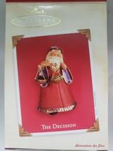 Vintage - Hallmark The Decision Ornament 2003 - $14.99
