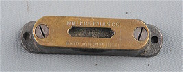 Millers Falls Level for M-F breast drills               ML200 - $21.78