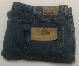 Red Head Relaxed Men's Blue Jeans Sz 48/30 Medium Stone Wash image 2
