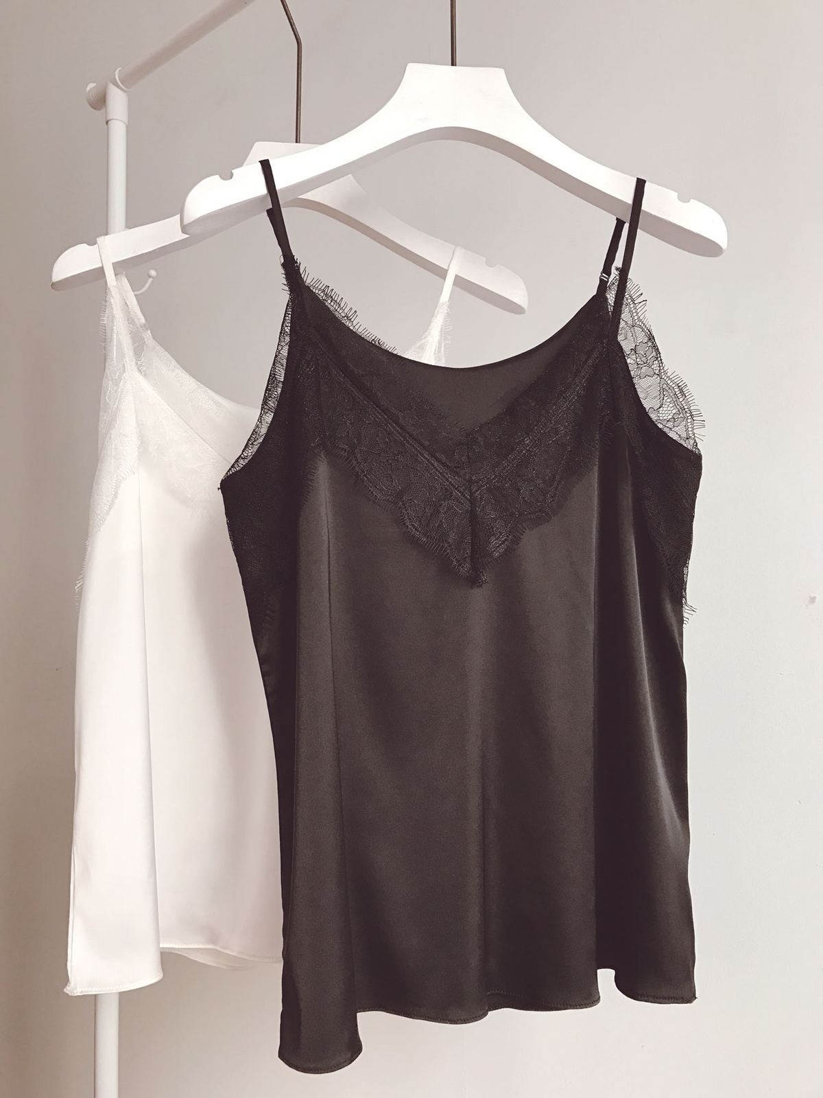Black Sleeveless Chiffon Lace Top Summer Chiffon Tank Bridesmaid Lace Top Blouse
