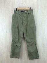KAPITAL Casual Pants Men Size XS Khaki Cotton From Japan Best deal - $133.77