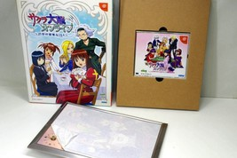 Dreamcast - SAKURA WARS ONLINE paris limited w/clock DC. JAPAN. GAME - $29.70