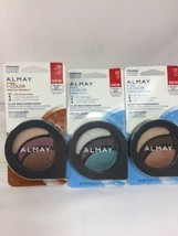 (3) Almay 105/110/150 Browns Blues Intense i-Color Smoky Evening Day EyeShadow - $13.81