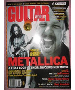 GUITAR WORLD MAGAZINE JUNE 2004 METALLICA COVER PLUS MORE! - $19.50