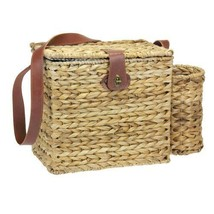 Household Essentials Romantic Wicker Picnic Basket for 2 with Wine Caddy... - €61,93 EUR