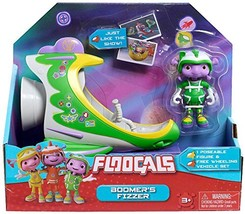 Floogals Just Play Figure with Vehicle Boomer Fizzer