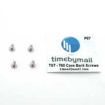 For TISSOT T60 Case Back Watch Screws Set of 4 Replacement Spare New Par... - $19.19