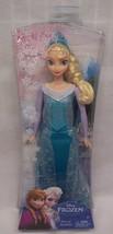 """Mattel Walt Disney Frozen NICE QUEEN ELSA OF ARENDELLE 12"""" Plastic Toy D... - $24.74"""