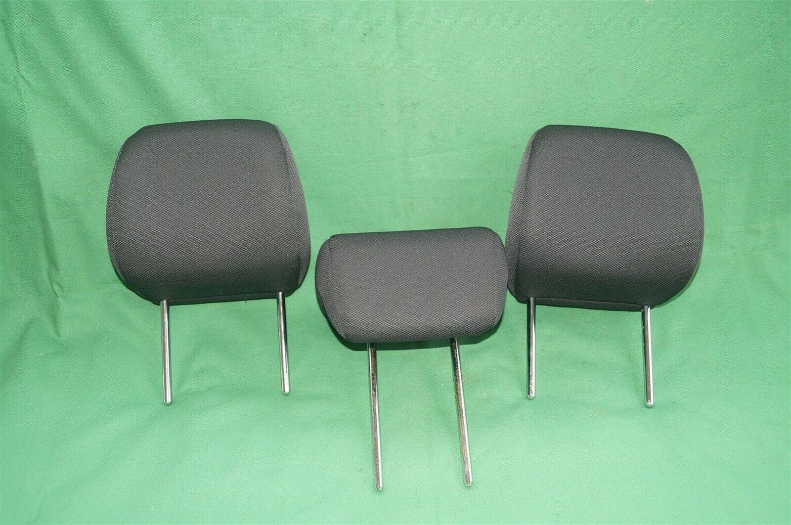 10-13 Kia Soul Rear Back Cloth 3 Headrests Headrest Set