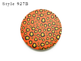 "3"" Animal Print Folding Makeup Round Compact Mirror - $6.95"