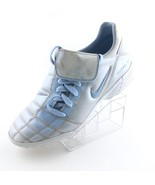 Vintage Nike Total 90 Turf Soccer Shoes 031101 Size 6.5 Youth Silver RAR... - $38.38