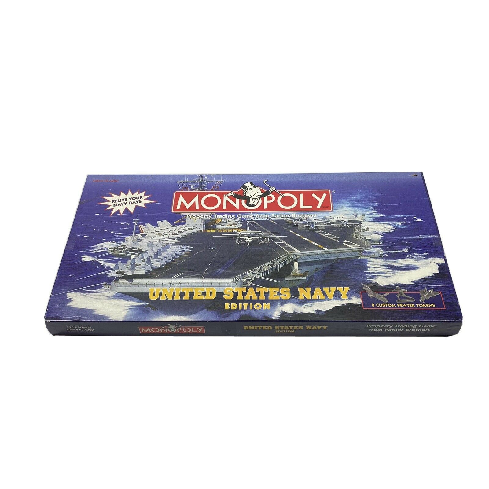 Monopoly United States Navy Edition 1998 Hasbro Complete VGUC - $37.99