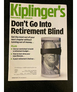 Kiplinger's Personal Finance Magazine Feb 2020 Retirement Budgeting - £4.25 GBP