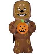 Airblown Star Wars Chewbacca with Pumpkin Halloween Inflatable - $69.95