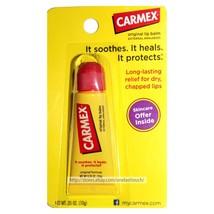 Carmex* Lip Balm Original Squeezy Tube Soothe+Heal+Protect External Analgesic 1a - $3.99