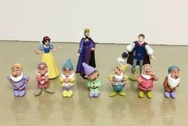 1993 Mattel Disney Snow White 10pc PVC figures Set NM/M - $24.74