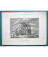 PHILADELPHIA Exposition Great Corliss Steam Engine  - 1876 Engraving Print - $26.01