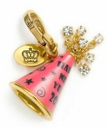 Juicy Couture Charm 2011 Ltd New Year's Hat Goldtone NEW - $57.42