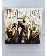 Deus Board Game Sebastien Dujardin Pearl Games Asmodee 2-4 Player Complete - $39.59