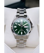 Orient 3 Star RA-AB0F08E Orient Automatic men's watch green dial stainle... - $119.00