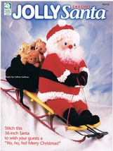 Crochet a Jolly Santa Pattern Book - $7.99