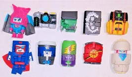 Transformers Botbots Series Promo Con Crew Complete set 10 pack Goldrush... - $54.99