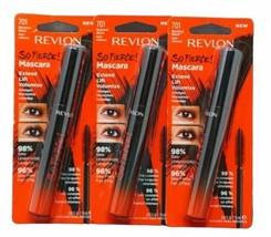 3X Revlon So Fierce! Mascara #701 Blackest Black - $14.77