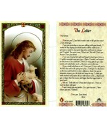 A Letter From Jesus Laminated Prayer Card - Item EB116 - Dear Friend How... - $2.23