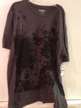 NWT/ I.N.C MEN'S T-SHIRT/SIZE XL Gray 100% Cotton - MSRP $29 - $14.95