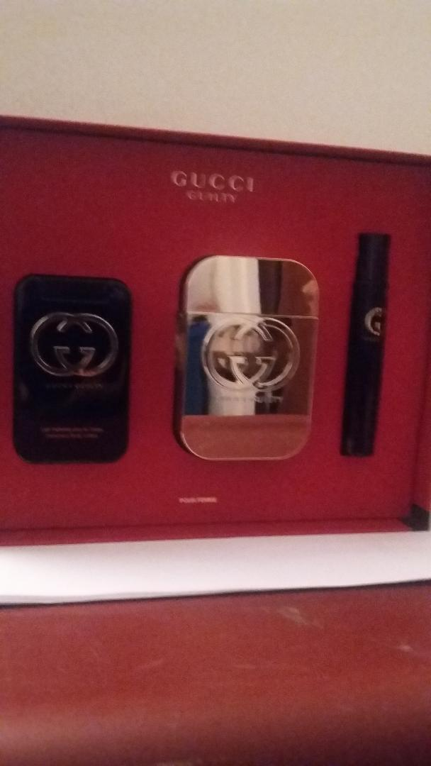 Gucci Guilty Pour Femme Perfume Spray 3 Pcs Gift Set