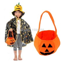 2017 New Halloween Smile Pumpkin Bag Kids Candy Bag Children Handheld ba... - $93,80 MXN