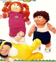 Cabbage Patch Kids Fitness Outfits Butterick 3920 Vintage Aerobic Outfit, Runnin - $14.73