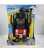 Fisher-Price Imaginext DC Super Friends Transforming Batmobile RC Vehicl... - $55.74