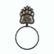 Iron Bear Paw Towel Ring - $36.25