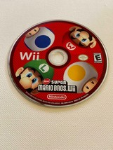 New Super Mario Bros. Wii - (Nintendo Wii, 2009) - DISC ONLY ~ TESTED - $19.00