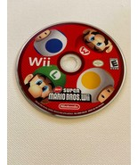 New Super Mario Bros. Wii - (Nintendo Wii, 2009) - DISC ONLY ~ TESTED - £14.51 GBP