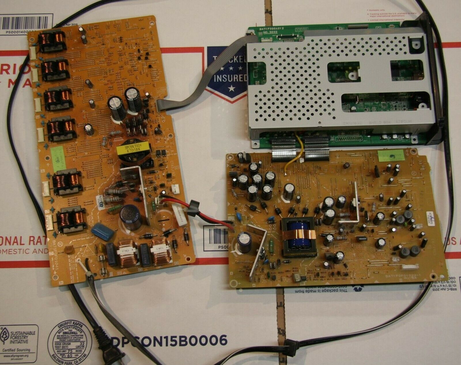 EMERSON LC320EM8A Main Board Video Board and Power Board - $59.00