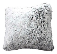 Luxurious Faux Fur Pillow Slipcovers, Set of 2 image 1
