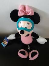 Disney Sega Minnie Mouse Plush Stuffed Animal Swimmer Sports Series 1 Go... - $16.59