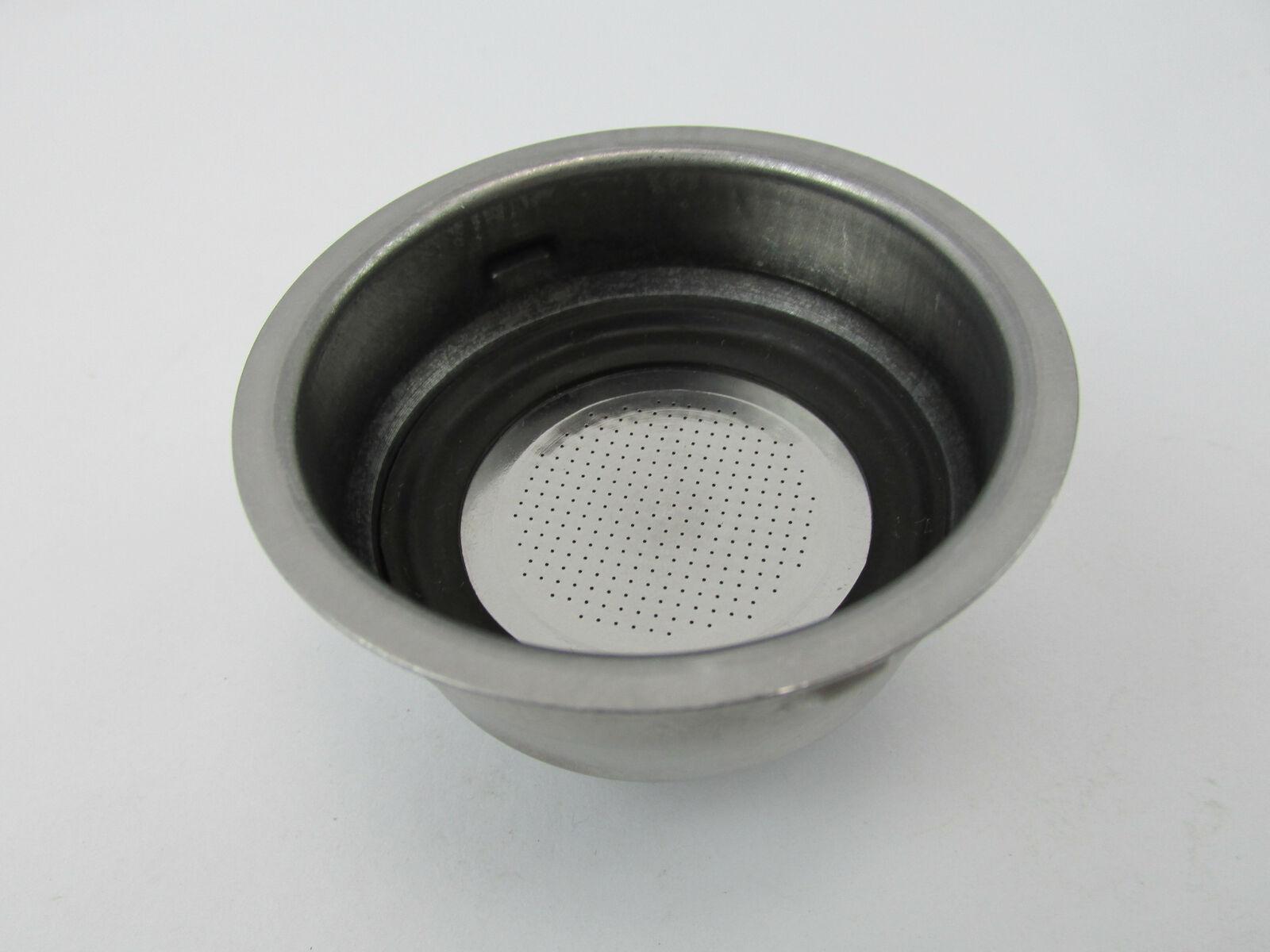 Delonghi Espresso Machine 2 Cup Coffee Filter Assembly EC140B EC155 BAR32 Bar-32 - $10.48