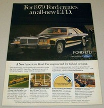 1979 Print Ad The '79 Ford LTD 2-Door All New - $11.82