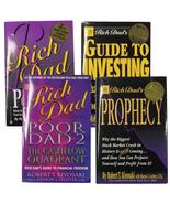 Book Bundle Rich Dad Poor Dad Rich Dad's Guide to Investing Rich Dad's P... - $12.97