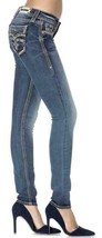 Rock Revival Women's Premium Skinny Light Denim Jeans Woven Pants Kida S image 2