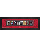 Personalized Northern Illinois University Campus Letter Art Framed Print - $39.95