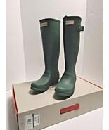 Hunter Women's  Original Tall Wellington Rain Boots  7 Hunter Green - $89.08