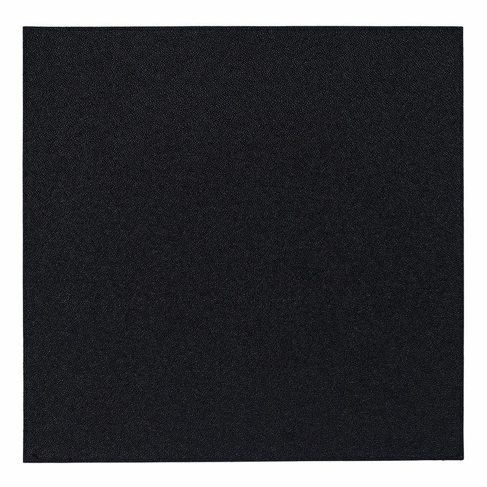 Set of 4 Black Square Placemats, Bodrum Skate  - $108.00