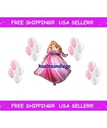(¯`·. 17 Princess AURORA Sleeping Beauty Birthday Balloons! FREE Shippin... - $7.69